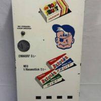 Bazooka Automat 60er voll funktionstüchtig ohne Kaugummi
